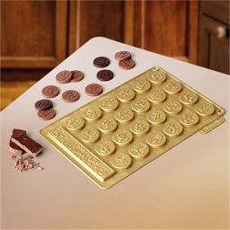 Chocolate coin mould