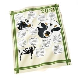 Keukendoeken met kalender 2021