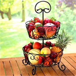 Arabesque fruit bowl