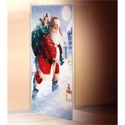 Film de porte Noël