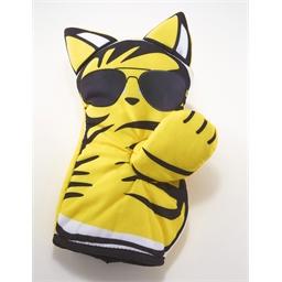Ovenwant gele kat