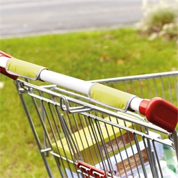 2 anti-contamination trolley handle grips