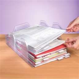 Lot de 8 ou 16 range documents empilables