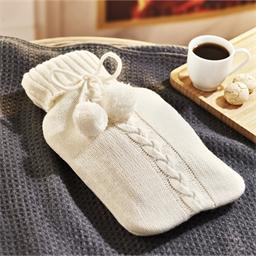 Bouillotte tricot