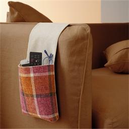 Pastel sofa organiser
