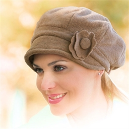 Double thickness fleece hat