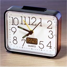 Large Number Luminous Alarm Clock