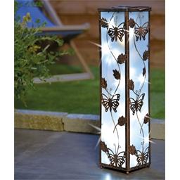 Butterfly solar floor lamp
