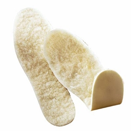 Pair of fleece soles