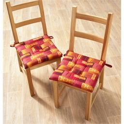 Set van 2 Eldorado-stoelkussens Set van 2 Eldorado-stoelkussens