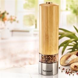 Bamboo salt/pepper mill