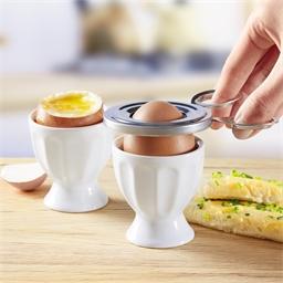 Boiled egg cutter