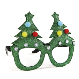 Christmas tree or hat spectacles