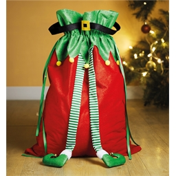 Elf gift sack