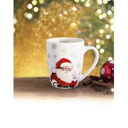 Mok met Kerstman