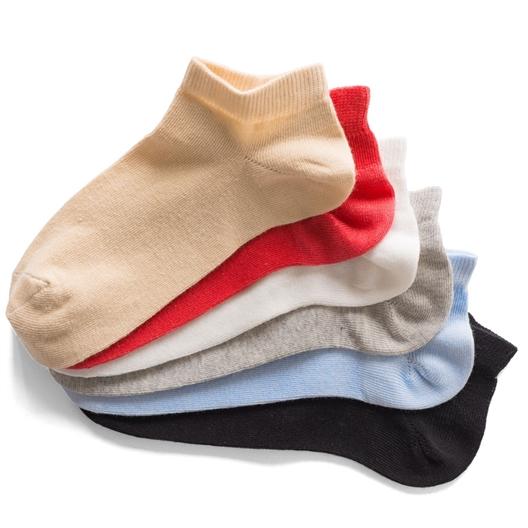 Set van 6 paar sokken