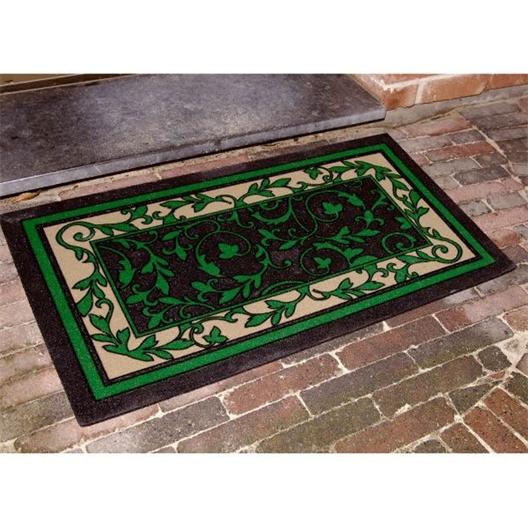 Decoratieve buitenmat Groen