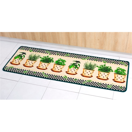 Aromatic plant rug