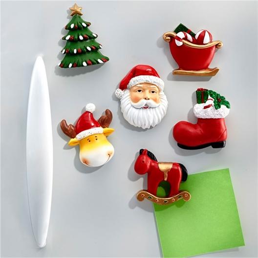 6 kerstmagneten