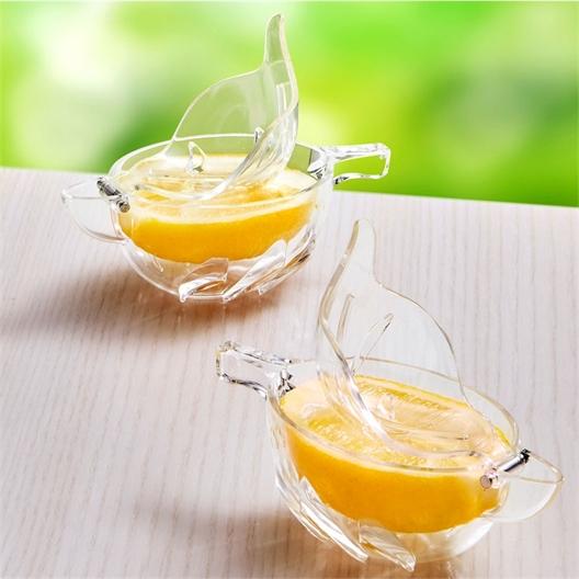 2 Vogel-Zitronenpressen