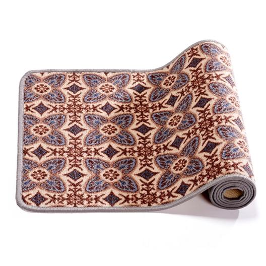 Tapis carreaux de ciment marron 40 x 60 cm