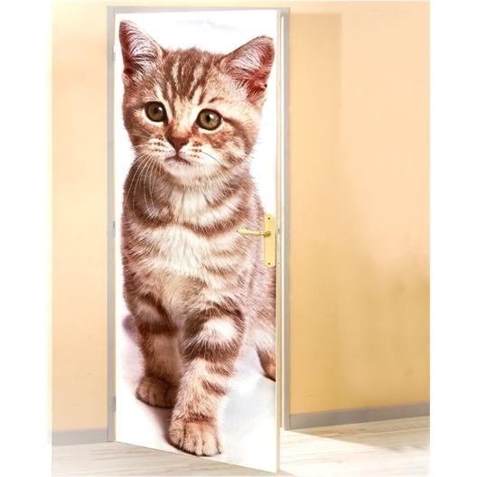 Poster de porte chat Chaton