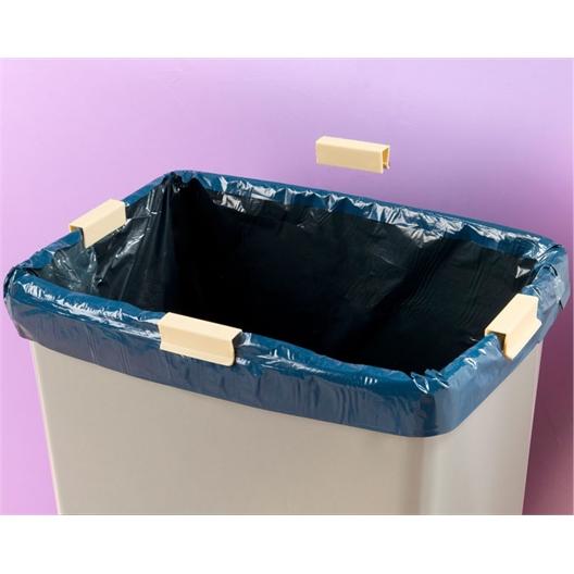 8 pinces sacs poubelle