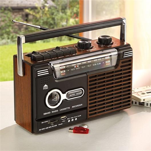 Radio rétro multifonctions
