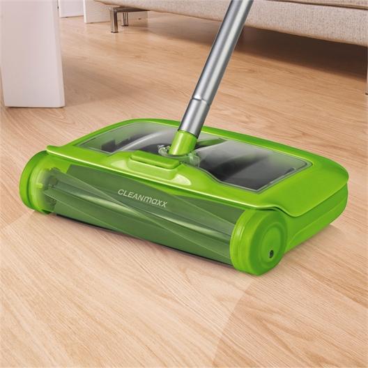 2-in-1-vloerveger ; 2 moppen voor vloerveger