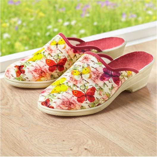 Mules papillons t42 - taille 42