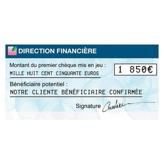 Grande opération chèques