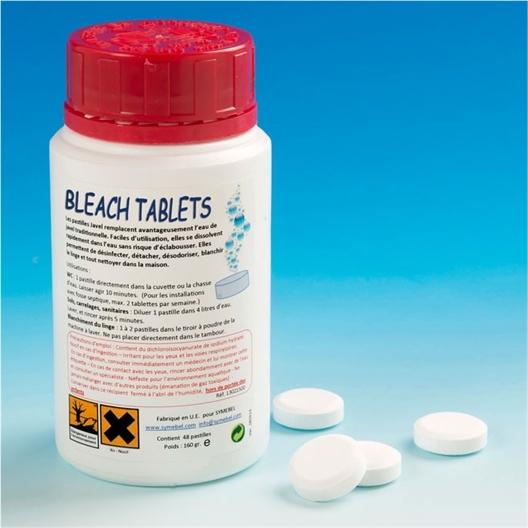 Bleach tablets