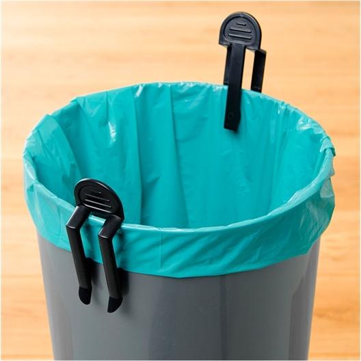 2 clips sacs poubelle
