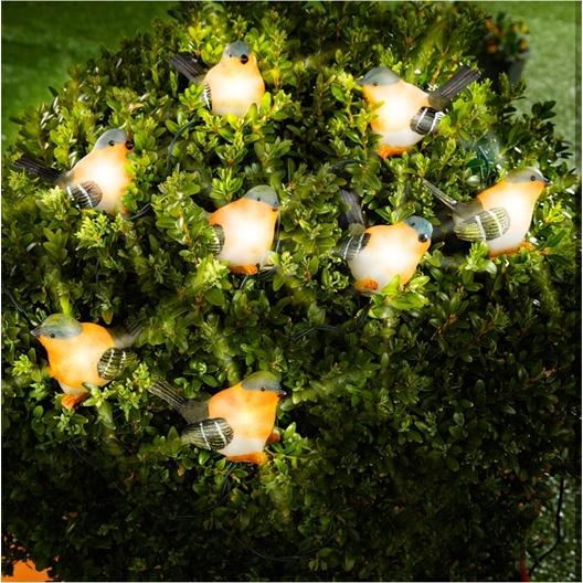 Guirlande rouges-gorges
