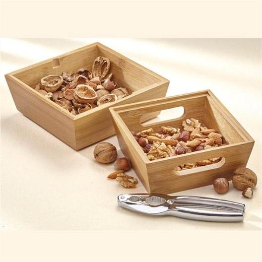 Bamboo Nutcracker Set
