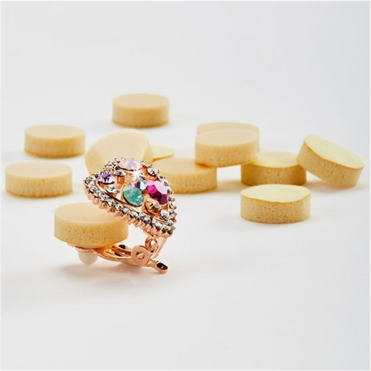 Set of 12 clip-on earring pads