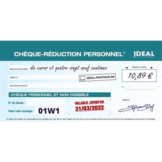 Chèque de Réduction de 10,89€