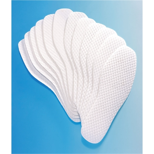 6 pair pack of disposable insoles
