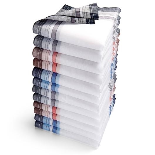 Set van 12 zakdoeken