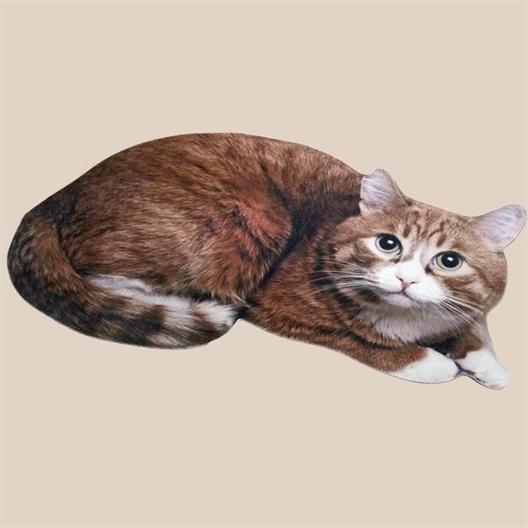 Fußmatte Katzenform Rouxi oder 2er set (Rouxi + Gribouille)
