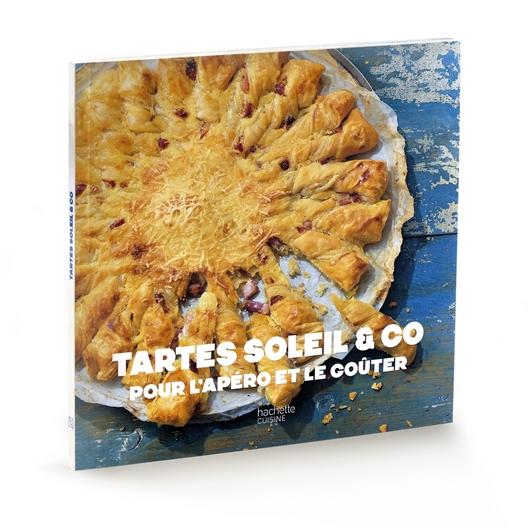 Livre de cuisine tartes soleil