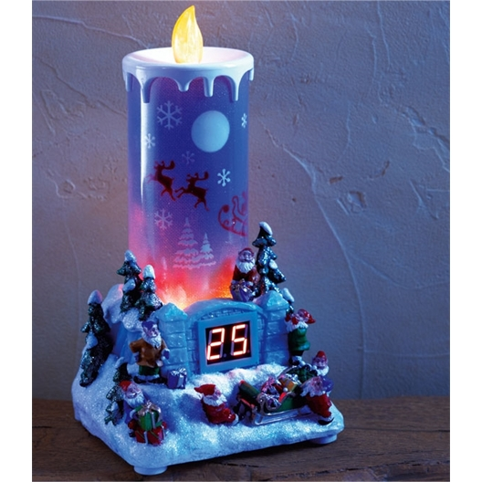 Led advent candle
