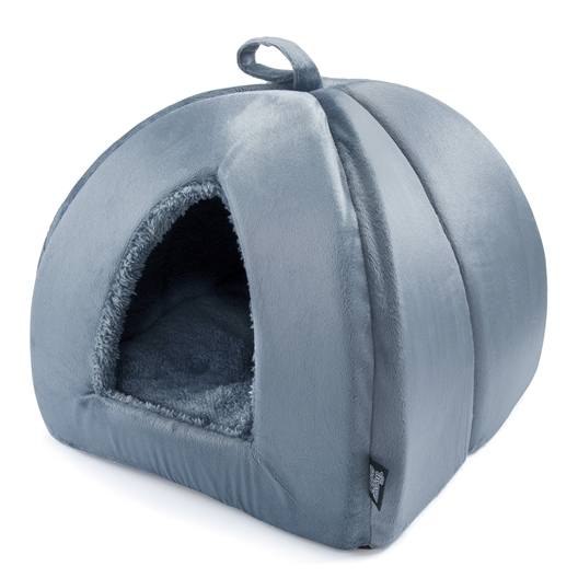 Katzenkörbchen grau