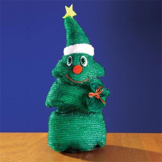 Zingende kerstboom