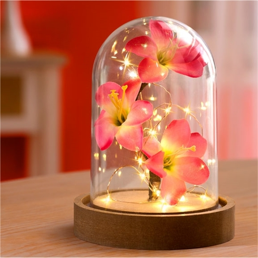 LED orchid dome