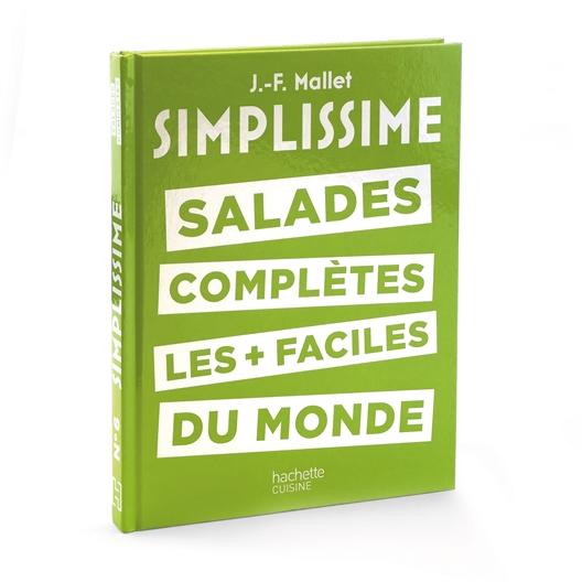 Livre de cuisine Simplissime salades