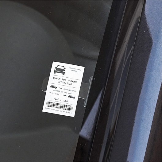 Carpark ticket holder