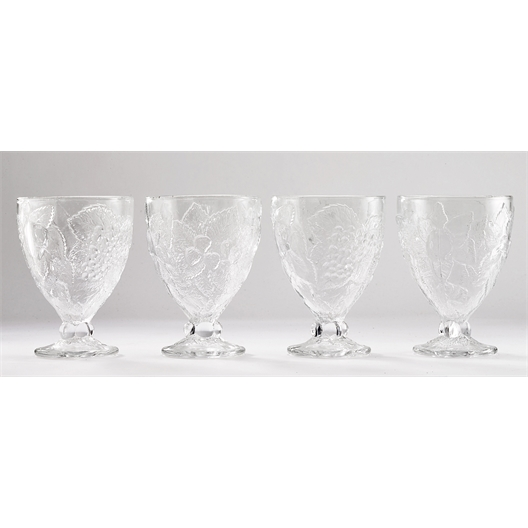 Glazen renaissancebekers Set van 2 of 4