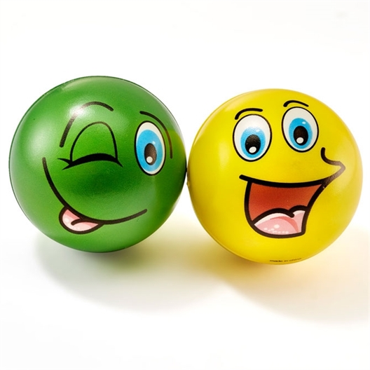 Lot de 2 balles anti-stress