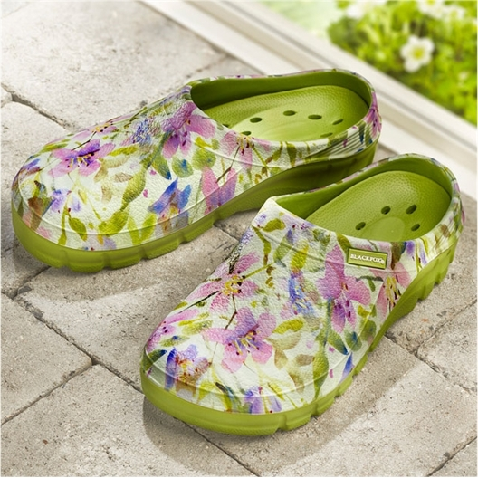 Lily floral clogs